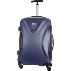 Walizka w kolorze niebieskim - 42 l. Niebieskie walizki Platinium, z materiału. W wyprzedaży za 239,95 zł.