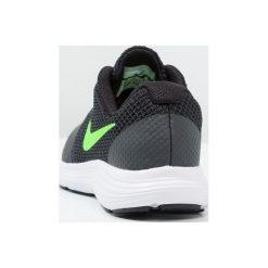 Nike Performance REVOLUTION 3  Obuwie do biegania treningowe anthracite/green strike/black/white. Szare buty sportowe chłopięce Nike Performance, z materiału. W wyprzedaży za 151,20 zł.