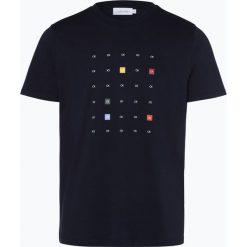 Calvin Klein - T-shirt męski, niebieski. Niebieskie t-shirty męskie z nadrukiem Calvin Klein, l. Za 229,95 zł.