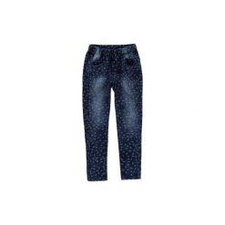 Legginsy dziewczęce jegginsy. Niebieskie legginsy dziewczęce marki KIPSTA, z elastanu. Za 39,99 zł.