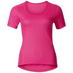 Odlo Koszulka tech. Odlo Shirt s/s crew neck CUBIC TREND - 140481 - 140481S. Różowe topy sportowe damskie Odlo, s. Za 149,95 zł.