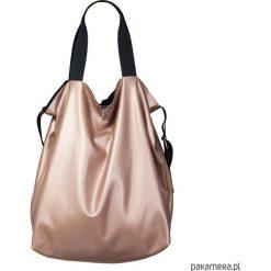 Dwustronna Torba TWIN Rosso. Różowe torebki klasyczne damskie Pakamera, ze skóry ekologicznej. Za 156,00 zł.