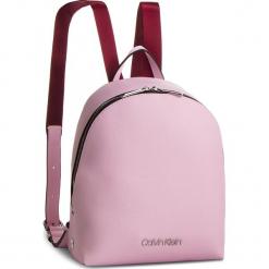 Plecak CALVIN KLEIN - Snap Sml Backpack K60K604804 Pink 639. Czerwone plecaki damskie Calvin Klein, ze skóry ekologicznej. Za 549,00 zł.