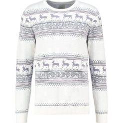 Swetry klasyczne męskie: Selected Homme SHXNEW REINDEER Sweter marshmallow
