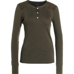 Swetry klasyczne damskie: Polo Ralph Lauren MERCERIZED Sweter defender green