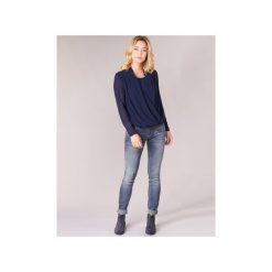 Jeansy slim fit Freeman T.Porter  Alexa Slim S-SDM. Niebieskie jeansy damskie relaxed fit marki Freeman T. Porter. Za 439,00 zł.