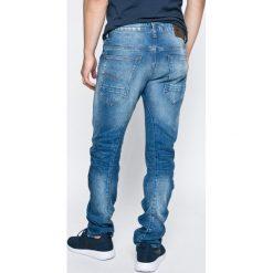 G-Star Raw - Jeansy Itano. Niebieskie jeansy męskie slim marki G-Star RAW, z bawełny. W wyprzedaży za 299,90 zł.