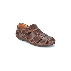 Sandały Pikolinos  TARIFA 06J. Brązowe sandały męskie Pikolinos. Za 351,20 zł.