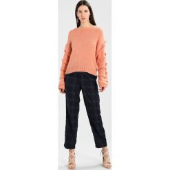 Swetry damskie: Selected Femme SFOLIVIA ONECK Sweter muted clay