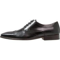 Zign Eleganckie buty black. Czarne buty wizytowe męskie Zign, z materiału, na sznurówki. Za 419,00 zł.