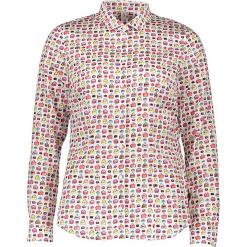 Bluzka - Comfort fit - w kolorze białym ze wzorem. Białe topy sportowe damskie Seidensticker, z bawełny. W wyprzedaży za 159,95 zł.