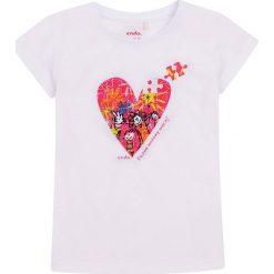 Endo - Top dziecięcy 134-164 cm. Różowe bluzki dziewczęce marki Mayoral, z bawełny, z okrągłym kołnierzem. Za 39,90 zł.