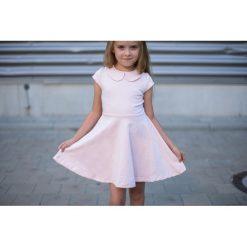 Sukienka Amelia Różowa. Czerwone sukienki dziewczęce z falbanami Pakamera, eleganckie. Za 69,00 zł.