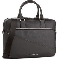 Torba na laptopa TOMMY HILFIGER - Th Diagonal Computer Bag AM0AM02841 002. Czarne plecaki męskie marki TOMMY HILFIGER. Za 649,00 zł.