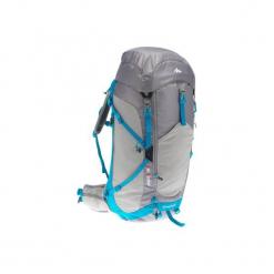 Plecak turystyczny MH500 40 l. Szare plecaki damskie QUECHUA, z elastanu. Za 249,99 zł.