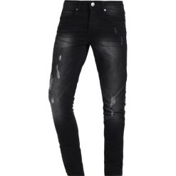 Rurki męskie: LOYALTY & FAITH TIMBER Jeans Skinny Fit washed black