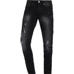 LOYALTY & FAITH TIMBER Jeans Skinny Fit washed black. Czarne jeansy męskie marki LOYALTY & FAITH. W wyprzedaży za 134,10 zł.