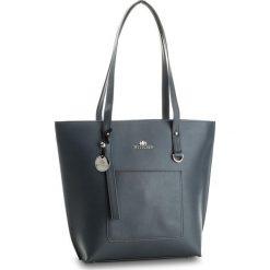 Torebka WITTCHEN - 36-4-077-8 Granatowy. Niebieskie torebki klasyczne damskie marki Wittchen, ze skóry, duże. W wyprzedaży za 449,00 zł.
