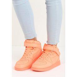 Pomarańczowe Buty Sportowe Laura. Brązowe buty sportowe damskie marki NEWFEEL, z gumy. Za 34,99 zł.