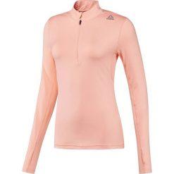 Bluza do biegania damska REEBOK RUNNING ESSENTIALS 1/4 ZIP / BQ7477. Szare bluzy sportowe damskie marki Reebok, l, z dzianiny, casualowe, z okrągłym kołnierzem. Za 139,00 zł.