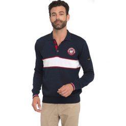 Sir Raymond Tailor Sweter Męski Fescue Xxl Ciemnoniebieski. Niebieskie swetry klasyczne męskie marki Oakley, na lato, z bawełny, eleganckie. Za 199,00 zł.