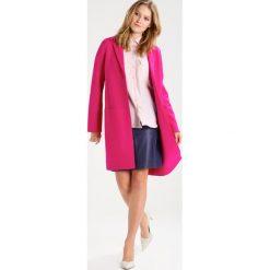 Kurtki i płaszcze damskie: SET Płaszcz wełniany /Płaszcz klasyczny pink