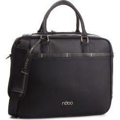 Torba na laptopa NOBO - NBAG-MF0030-C020 Czarny. Czarne torby na laptopa marki Nobo, ze skóry ekologicznej. W wyprzedaży za 199,00 zł.