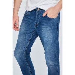 Only & Sons - Jeansy Spun. Niebieskie jeansy męskie Only & Sons, z bawełny. W wyprzedaży za 79,90 zł.