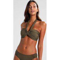 Bikini: Seafolly BANDEAU Góra od bikini dark olive
