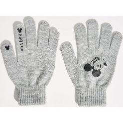 Akcesoria: Rękawiczki Mickey Mouse - Jasny szar