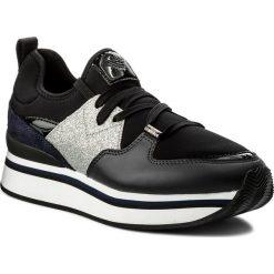 Sneakersy damskie: Sneakersy EMPORIO ARMANI - X3X047 XL215 A025 Navy/Blk/Blk/Sil/Nav