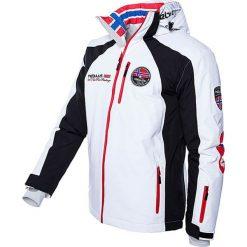 """Kurtka narciarska """"Maestro"""" w kolorze biało-czarno-czerwonym. Białe kurtki sportowe męskie Nebulus, m, narciarskie. W wyprzedaży za 474,95 zł."""