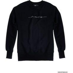 Bluza Męska CREWNECK OVER-ARM HARP. Czarne bluzy męskie rozpinane marki Pakamera, m, z kapturem. Za 199,00 zł.