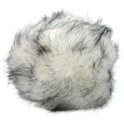 Czapka damska Toczek Moskwa biało-czarna. Białe czapki zimowe damskie Art of Polo. Za 37,60 zł.