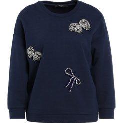 Bluzy rozpinane damskie: WEEKEND MaxMara SARNICO Bluza blu marino