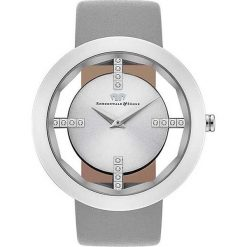 """Zegarek kwarcowy """"Lucrezia"""" w kolorze szaro-srebrnym. Szare, analogowe zegarki damskie Stylowe zegarki, srebrne. W wyprzedaży za 260,95 zł."""