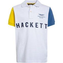 Hackett London MULTI  Koszulka polo weiß. Białe t-shirty chłopięce Hackett London, z bawełny. Za 319,00 zł.