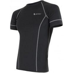 Sensor Koszulka Męska Coolmax Fresh Black Xl. Czarne koszulki do fitnessu męskie Sensor, m. W wyprzedaży za 119,00 zł.