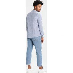 Koszule męskie na spinki: Suit REED MANDARIN Koszula indigo blue