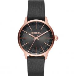 Zegarek DIESEL - Castilia DZ5573  Black/Rose Gold. Czarne zegarki damskie Diesel. Za 795,00 zł.