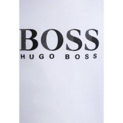 Bluzki dziewczęce bawełniane: BOSS Kidswear Bluzka z długim rękawem weiß