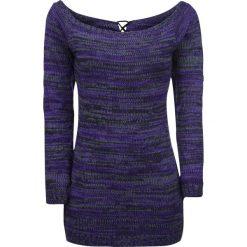 Innocent Hena Sweter damski jasnofioletowy (Lilac). Niebieskie swetry klasyczne damskie marki Innocent, xl, w ażurowe wzory, z materiału, z dekoltem na plecach. Za 164,90 zł.