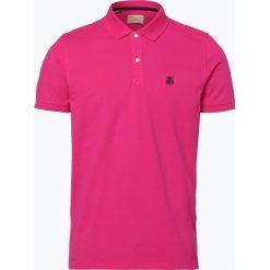 Selected - Męska koszulka polo – Haro, różowy. Szare koszulki polo marki Selected, l, z materiału. Za 99,95 zł.