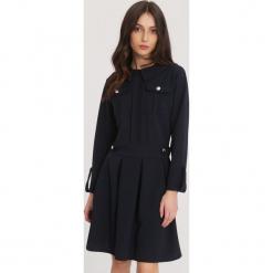 Granatowa Sukienka Beauty Layla. Niebieskie sukienki mini marki other, uniwersalny. Za 89,99 zł.