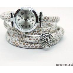 Zegarki damskie: Zegarek, bransoletka - Beżowy - owijany
