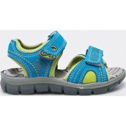 Primigi - Sandały dziecięce. Brązowe sandały chłopięce Primigi, z gumy. W wyprzedaży za 139,90 zł.