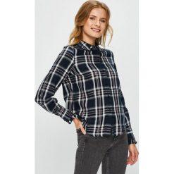 Vero Moda - Koszula. Szare koszule damskie marki Vero Moda, l, w kratkę, z bawełny, casualowe, z długim rękawem. W wyprzedaży za 99,90 zł.