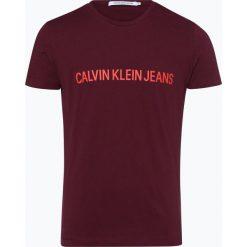 Calvin Klein Jeans - T-shirt męski, czerwony. Czarne t-shirty męskie marki Calvin Klein Jeans, z bawełny. Za 99,95 zł.