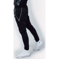 Spodnie dresowe męskie: Spodnie dresowe męskie z zamkami