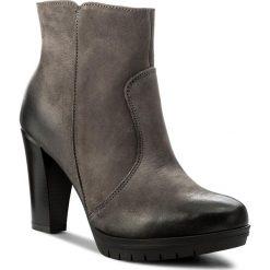 Botki SERGIO BARDI - Cesena FW127259517LK 809. Szare buty zimowe damskie Sergio Bardi, z nubiku, na obcasie. W wyprzedaży za 239,00 zł.